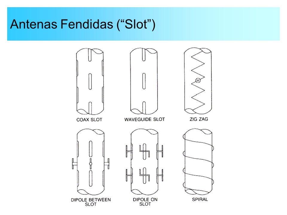 """Antenas Fendidas (""""Slot"""")"""
