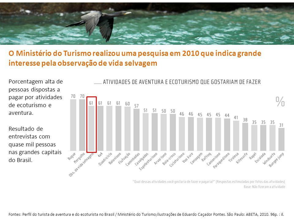 Fontes: Perfil do turista de aventura e do ecoturista no Brasil / Ministério do Turismo;Ilustrações de Eduardo Caçador Pontes.