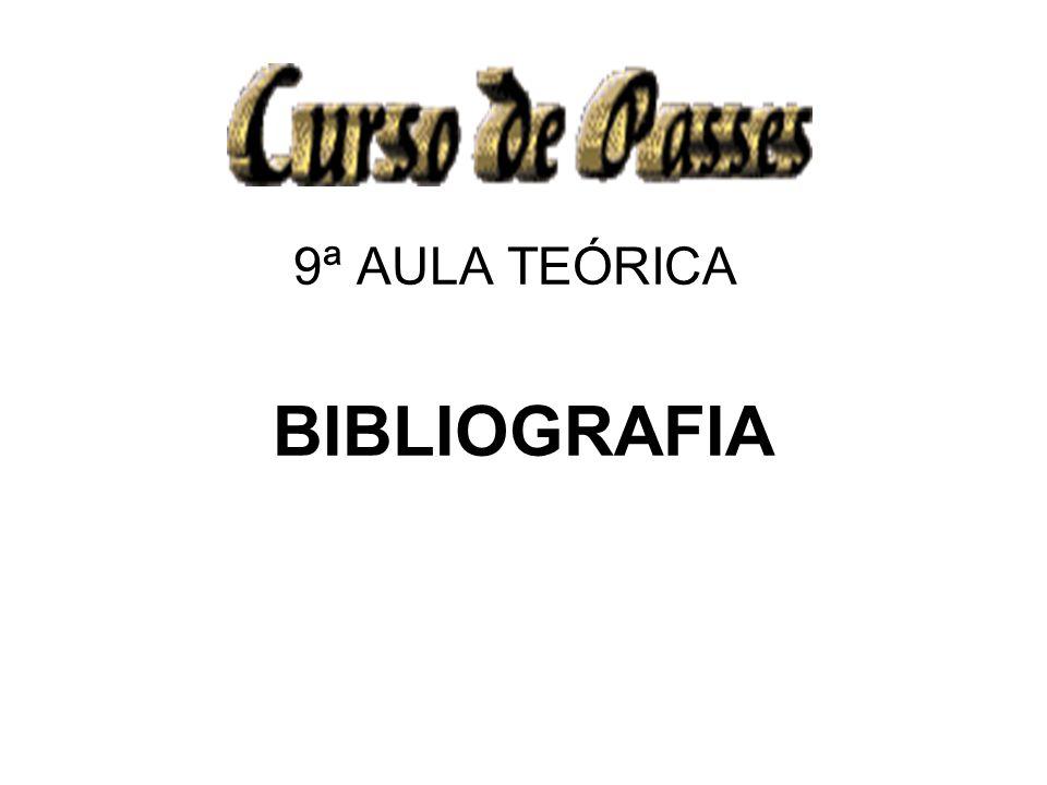 9ª AULA TEÓRICA BIBLIOGRAFIA