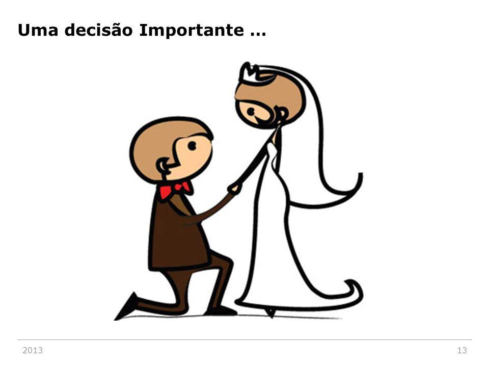 201313 Uma decisão Importante …