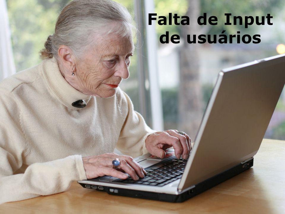 201327 Falta de Input de usuários