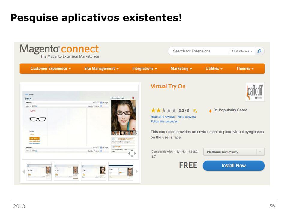 Pesquise aplicativos existentes! 201356