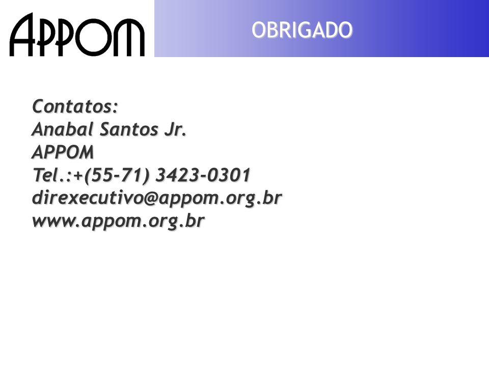 32 OBRIGADO Contatos: Anabal Santos Jr.