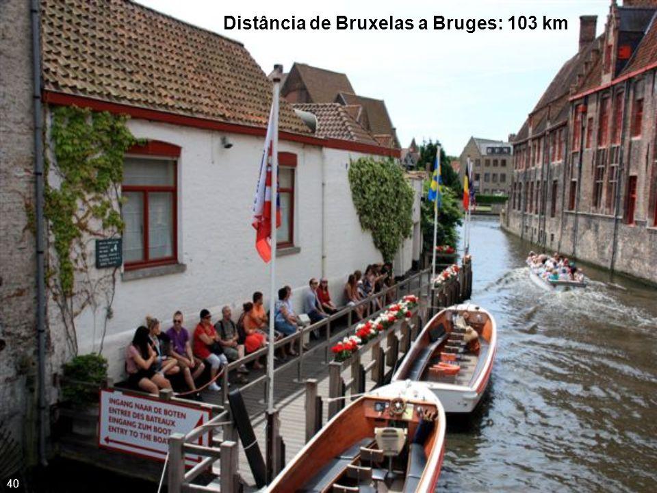 País conhecido por suas famosas batatas fritas, tem em Bruges, o