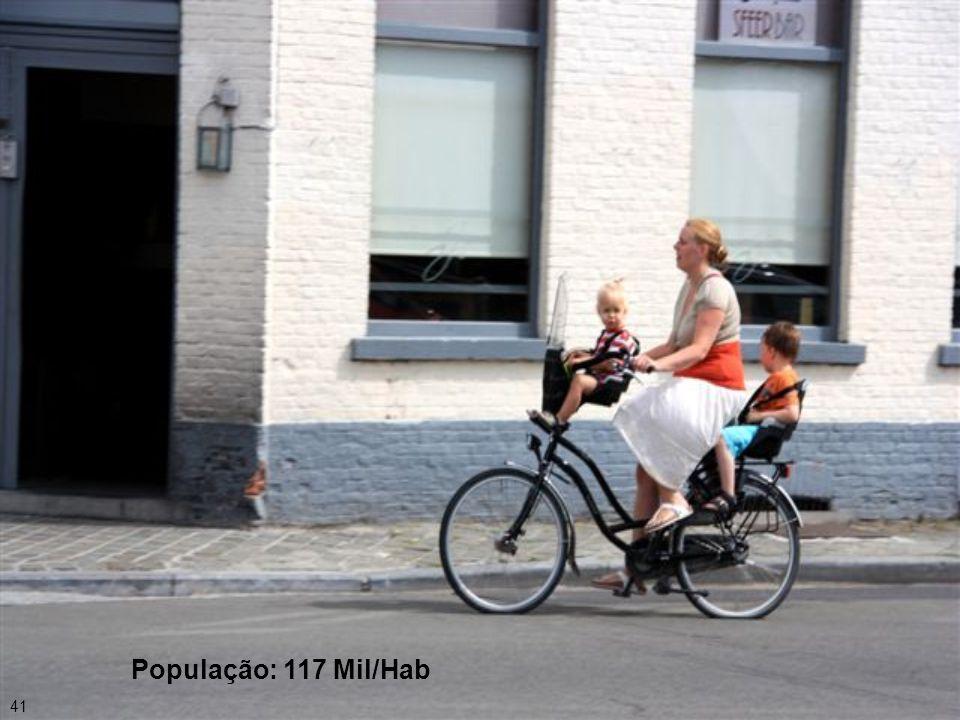 40 Distância de Bruxelas a Bruges: 103 km