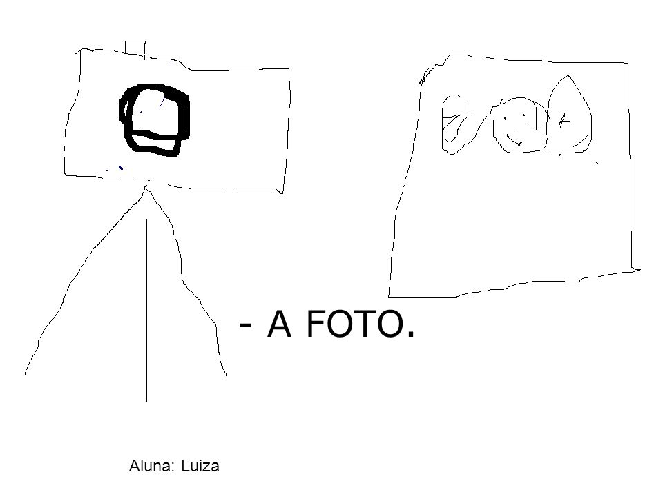 - A FOTO. Aluna: Luiza