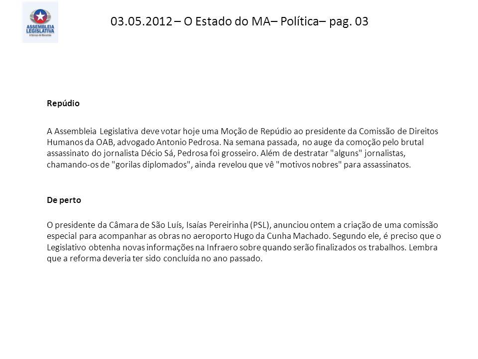 03.05.2012 – O Imparcial– Giro– pag. 10
