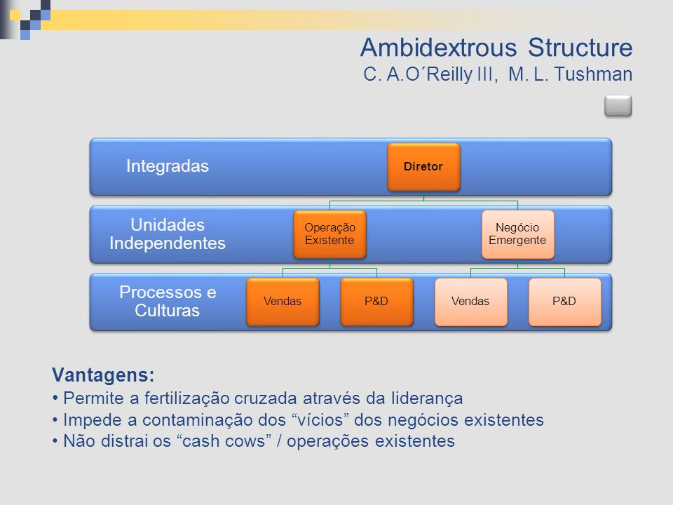 The Ambidextrous Organizations vs.Others C. A.O´Reilly III, M.