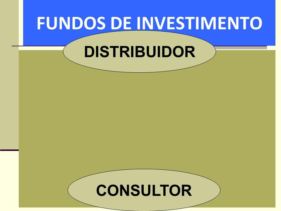 FUNDOS DE INVESTIMENTO DISTRIBUIDOR CONSULTOR