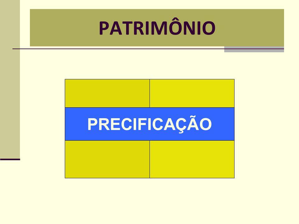 PATRIMÔNIO PRECIFICAÇÃO
