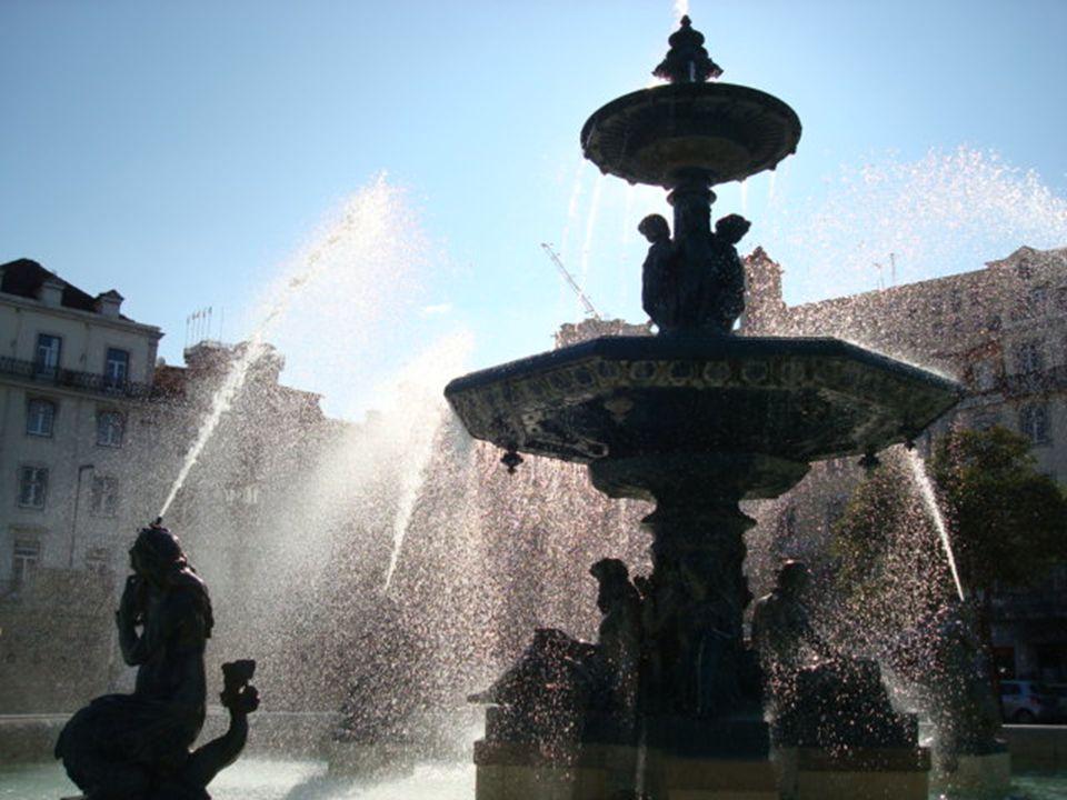 O Rossio de Lisboa e a estátua a D. Pedro V