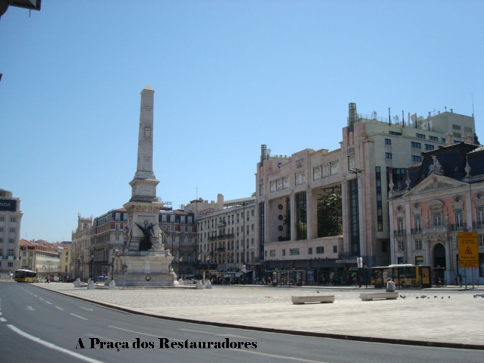 O Coliseu, os teatros e os restaurantes estão aqui localizados