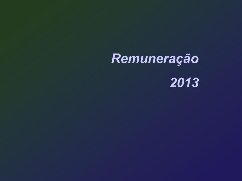 Remuneração 2013