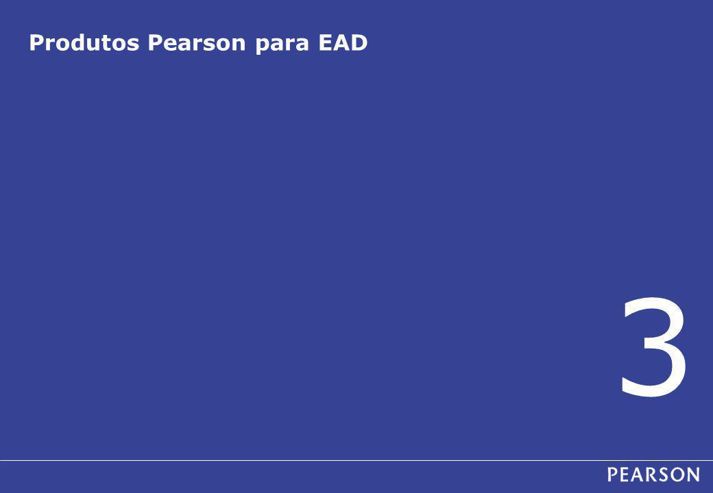 Produtos Pearson para EAD 3