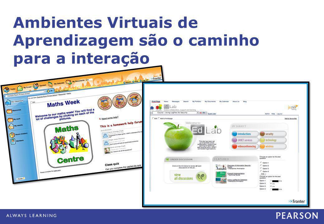 Ambientes Virtuais de Aprendizagem são o caminho para a interação