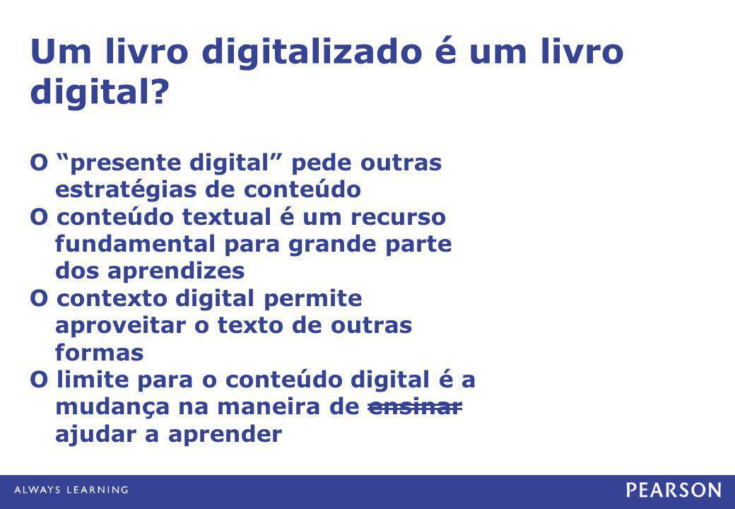 """Um livro digitalizado é um livro digital? O """"presente digital"""" pede outras estratégias de conteúdo O conteúdo textual é um recurso fundamental para gr"""