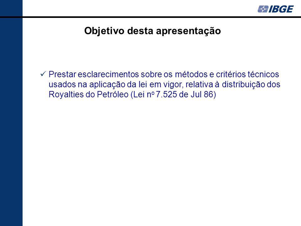 Comparativo PL 7.472/2002 com a Lei Atual (Lei 7.525/1986) … 1/2 Unidade da FederaçãoMétodo Atual – Lei 7525/1986 (Ortogonais + Paralelos) Método Proposto PL 7472/2002 SPBERTIOGAPRAIA GRANDE CANANEIA ALCURURIPE FELIZ DESERTO RJCAMPOS DOS GOYTACAZES QUISSAMA SAO JOAO DA BARRA CARAPEBUSSAO FRANCISCO DO ITABAPOANA MACAE RIO DAS OSTRAS CASEMIRO DE ABREU ARMACAO DE BUZIOS CABO FRIO ESPRES.