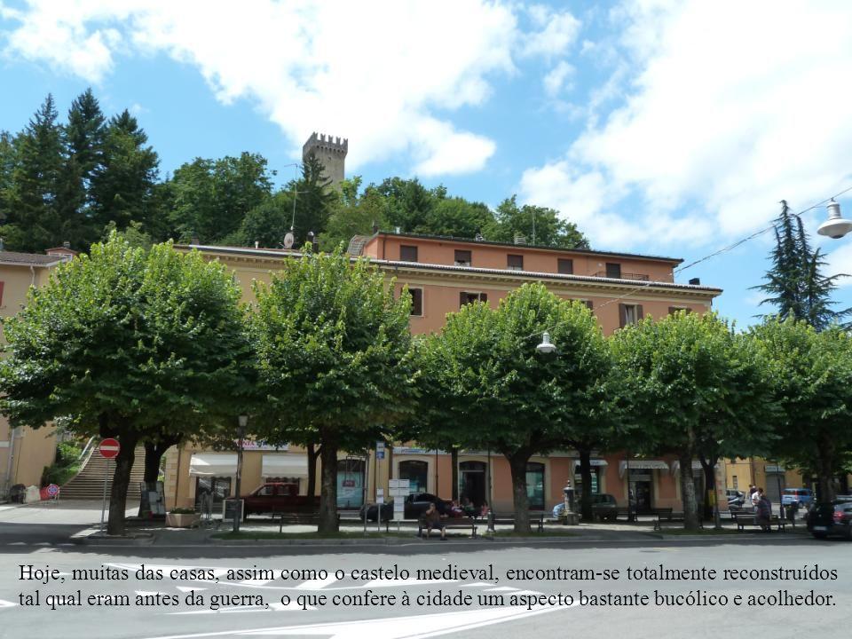 Sem a menor dúvida, Montese foi a cidade da província de Modena mais devastada durante a Segunda Guerra Mundial. Após intensos bombardeios pelas artil