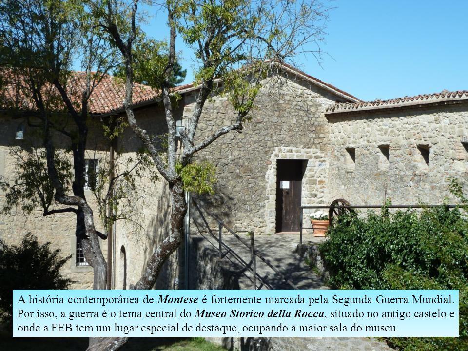 Acredita-se que o Castelo de Montese, situado no alto do monte conhecido como La Rocca, foi construído na primeira metade do século XIII, sendo atacad