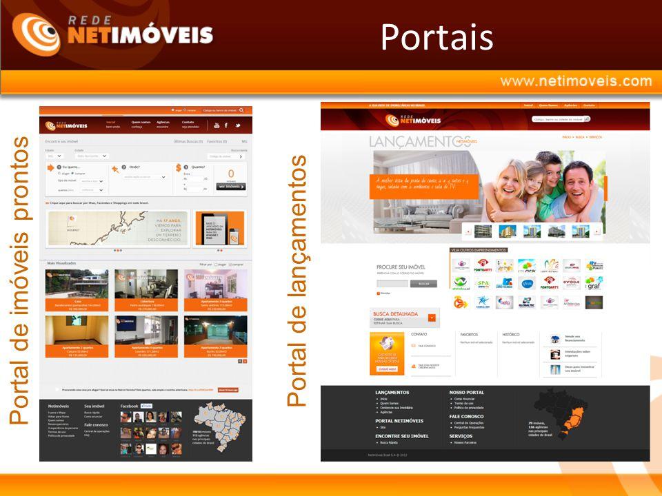 Portais Portal de imóveis prontosPortal de lançamentos