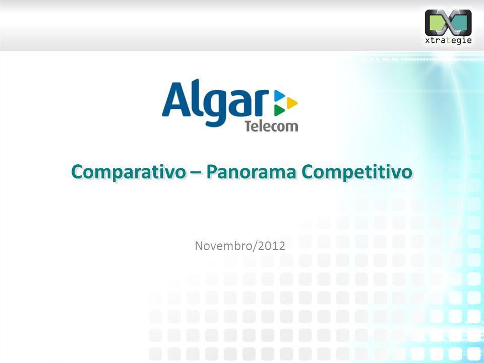 Comparativo – Panorama Competitivo Novembro/2012