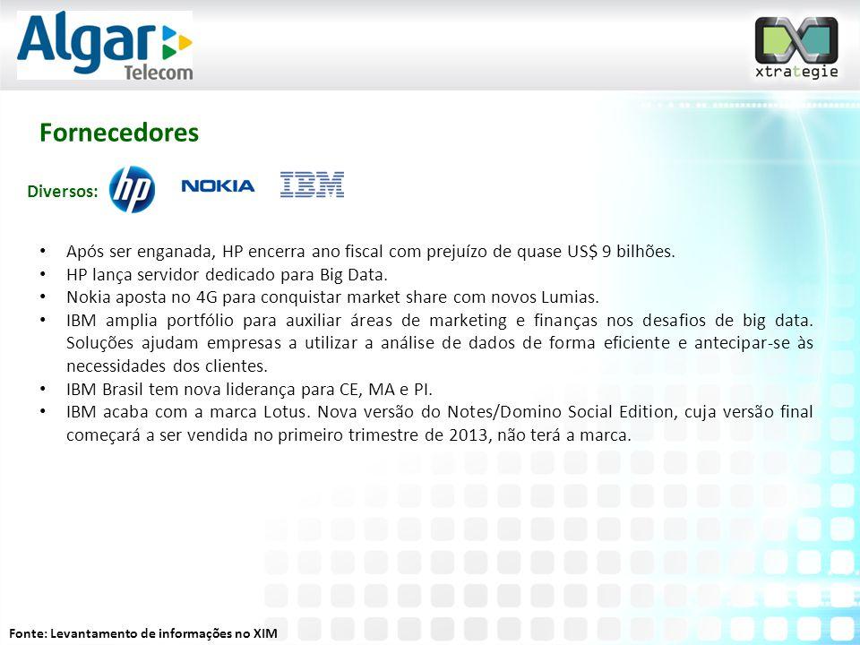 Fornecedores • Após ser enganada, HP encerra ano fiscal com prejuízo de quase US$ 9 bilhões.
