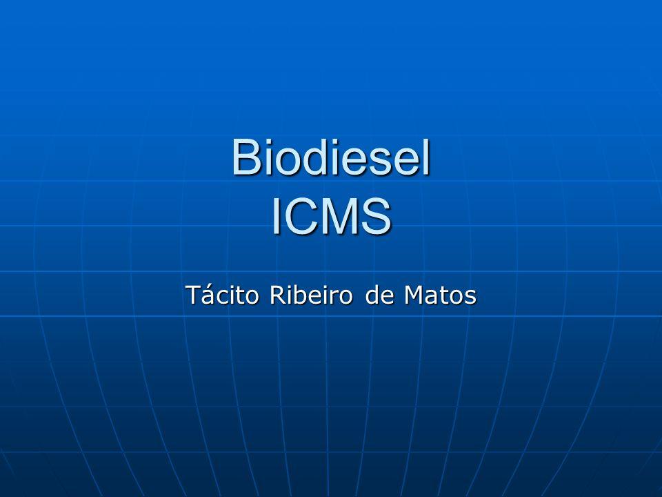Biodiesel ICMS Tácito Ribeiro de Matos