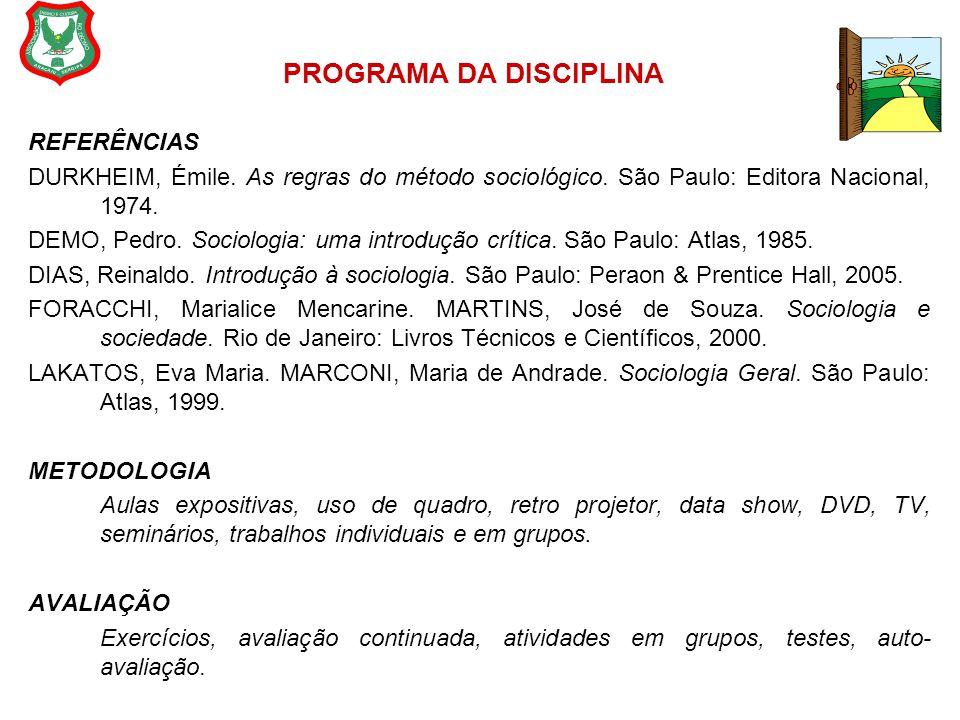 CALENDÁRIO DAS ATIVIDADES I UNIDADE DataConteúdoAtividade 02.08O Estudo da sociedade: conceitos; a questão social.