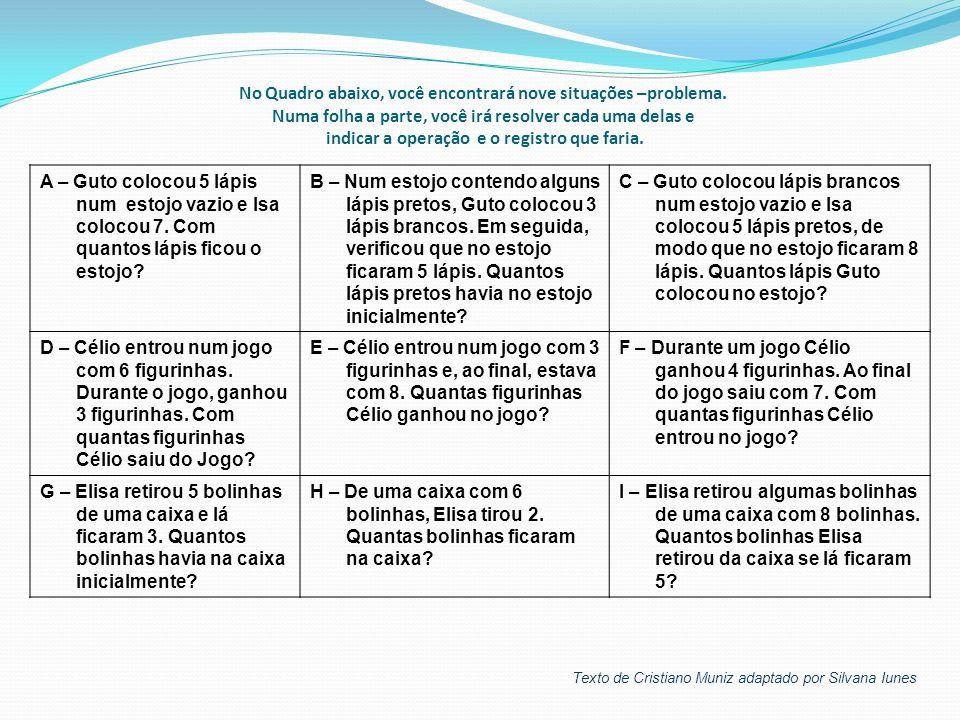 Na ADIÇÃO Podemos:  Juntar (coisas diferentes)  Acrescentar ou incremento (coisas iguais) Texto de Cristiano Muniz adaptado por Silvana Iunes