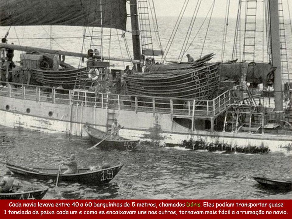 A pesca do bacalhau, mais do que um trabalho, era um ato de heroísmo.