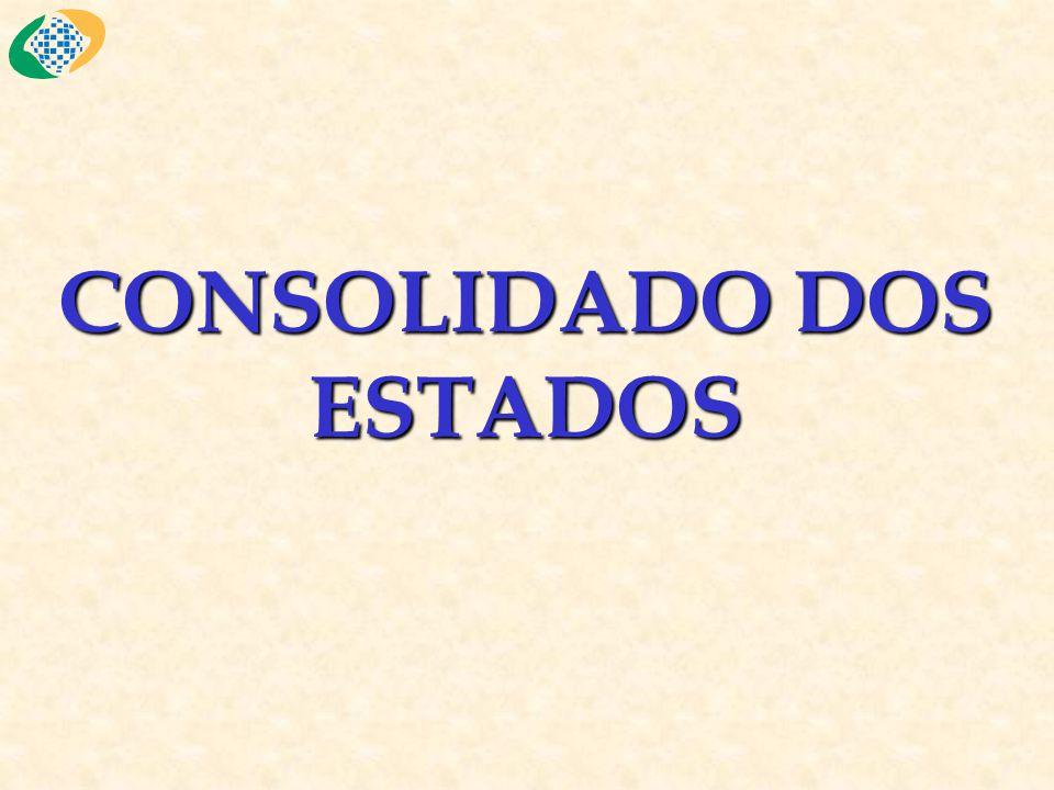 CONSOLIDADO DOS ESTADOS