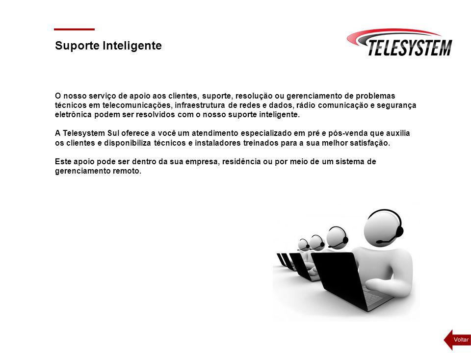 O nosso serviço de apoio aos clientes, suporte, resolução ou gerenciamento de problemas técnicos em telecomunicações, infraestrutura de redes e dados,