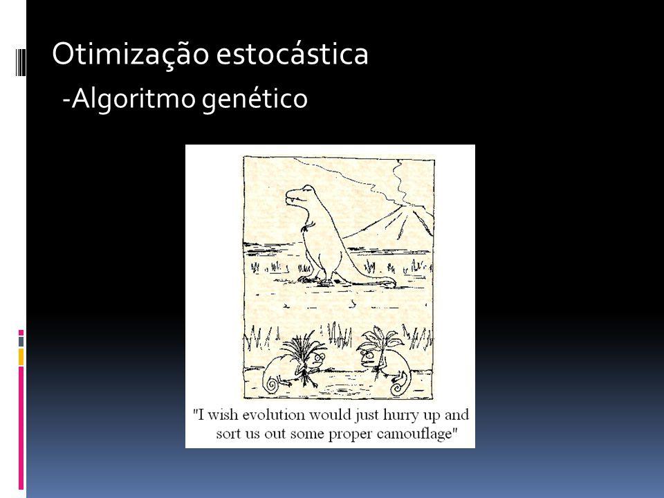 Otimização estocástica -Algoritmo genético