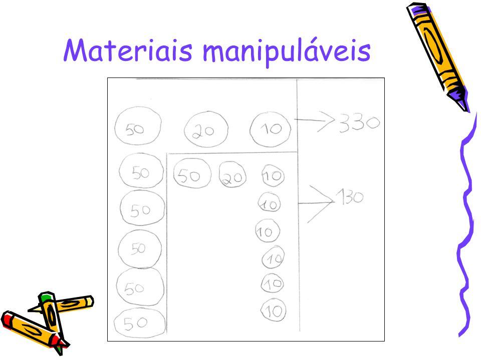 Materiais manipuláveis