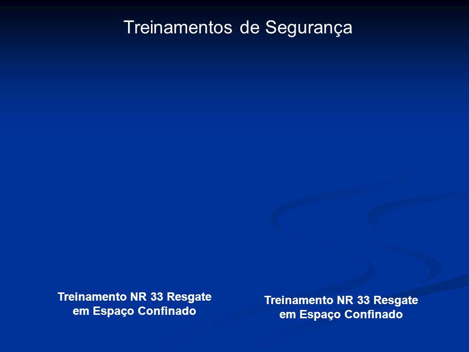 Treinamentos de Segurança Treinamento NR 33 Resgate em Espaço Confinado