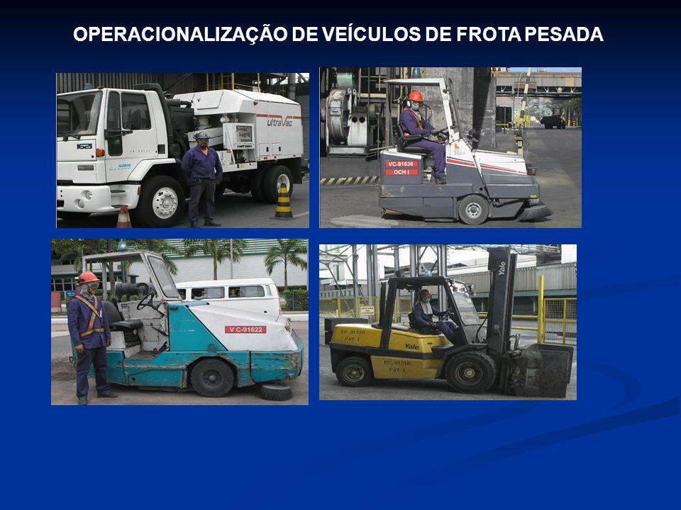 OPERACIONALIZAÇÃO DE VEÍCULOS DE FROTA PESADA
