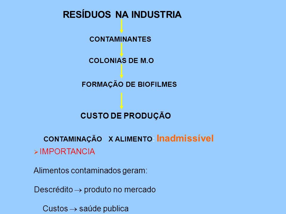 Microorganismo contaminantes pela água E.