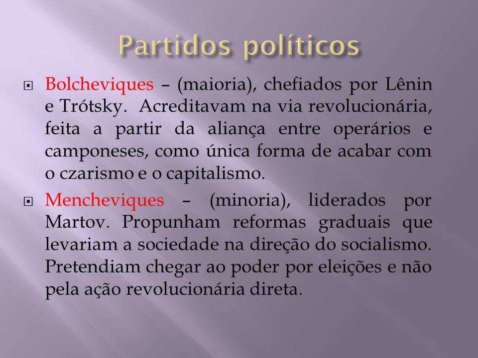  Constituiu o embasamento para a fundação do Partido Operário Social Russo  O Marxismo é o conjunto de idéias filosóficas, econômicas, políticas e sociais elaboradas primariamente por Karl Marx e Friedrich Engels e desenvolvidas mais tarde por outros seguidores.