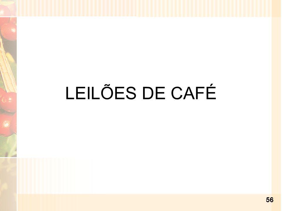 LEILÕES DE CAFÉ 56
