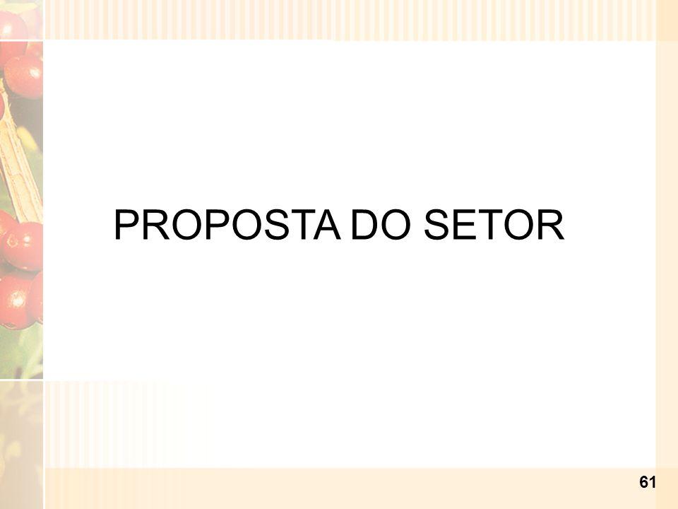 PROPOSTA DO SETOR 61