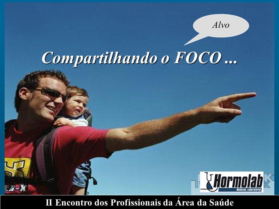 Compartilhando o FOCO... II Encontro dos Profissionais da Área da Saúde Alvo
