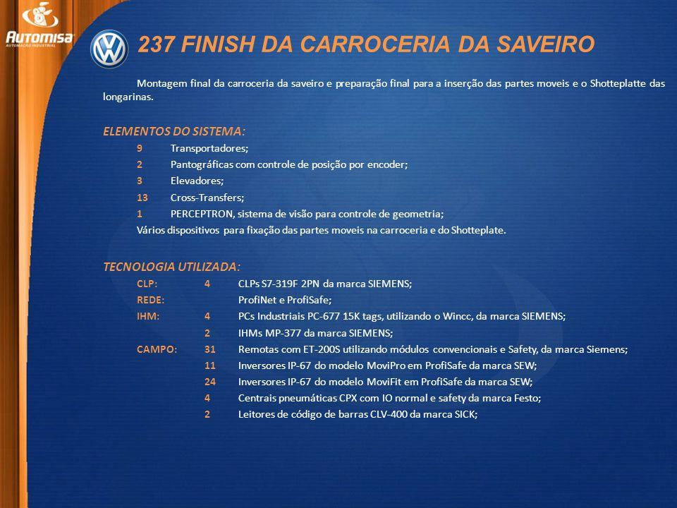 237 FINISH DA CARROCERIA DA SAVEIRO Montagem final da carroceria da saveiro e preparação final para a inserção das partes moveis e o Shotteplatte das longarinas.