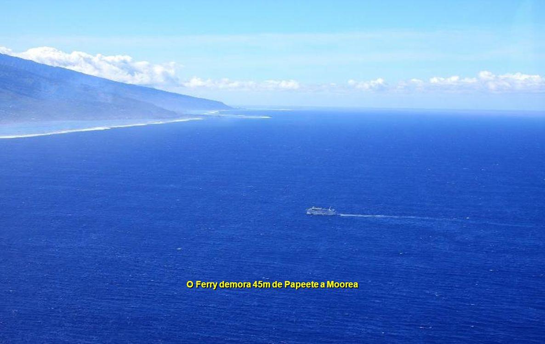 Papeete para Bora Bora