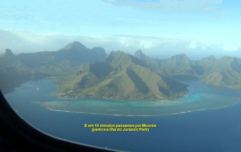 O Ferry demora 45m de Papeete a Moorea