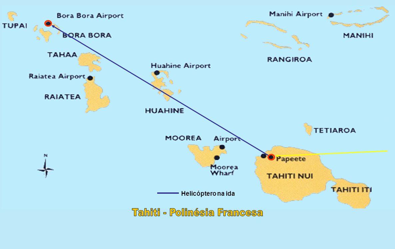São Paulo – Santiago – Tahiti