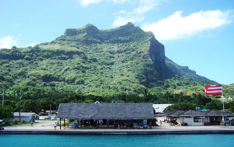 Visita a Vaitape (do outro lado da ilha)