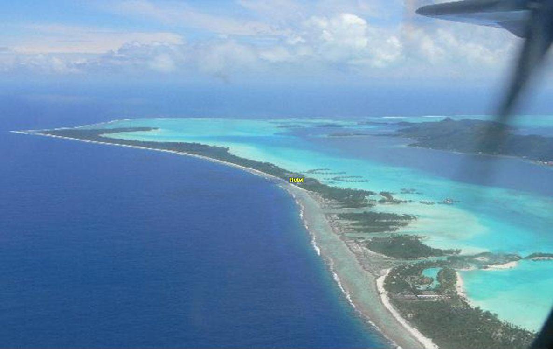 Avião para Papeete