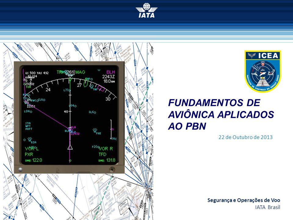 FUNDAMENTOS DE AVIÔNICA APLICADOS AO PBN Segurança e Operações de Voo IATA Brasil 22 de Outubro de 2013