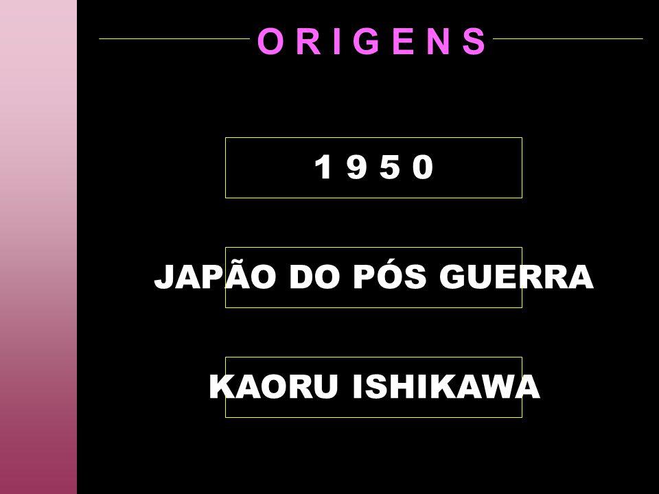 O R I G E N S KAORU ISHIKAWA JAPÃO DO PÓS GUERRA 1 9 5 0