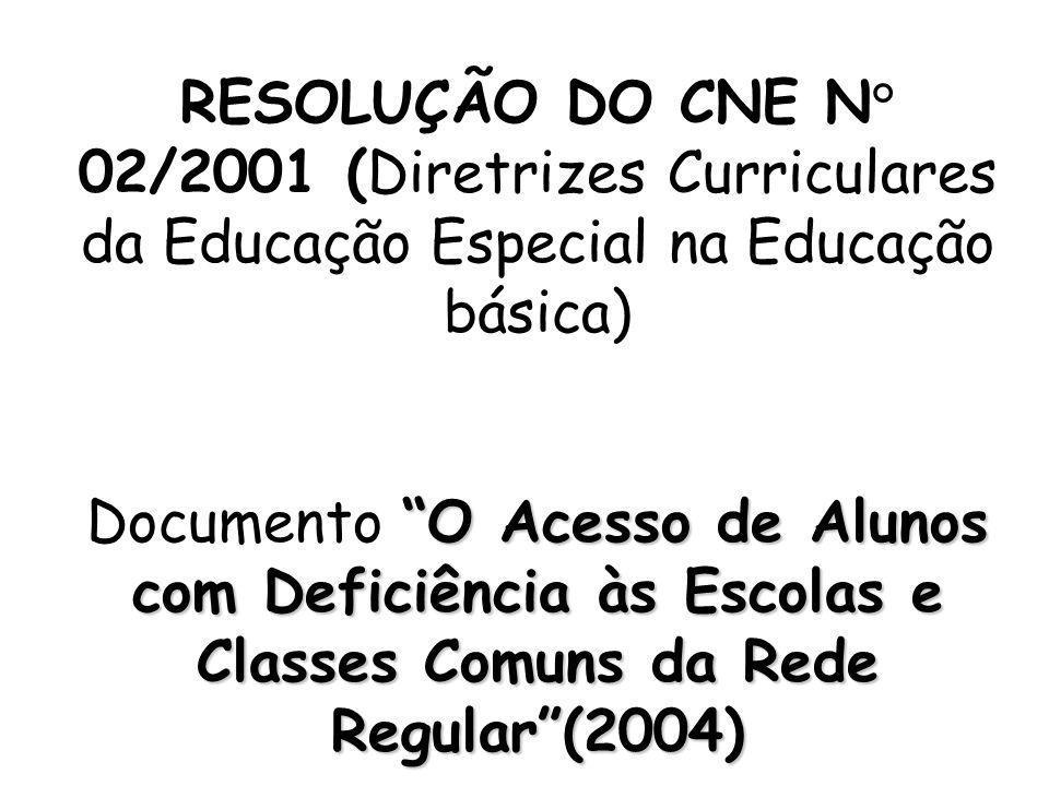  Declaração de Salamanca (UNESCO, 1994)  Lei de Diretrizes e Bases da Educação Nacional, Lei nº 9.394, de 20/12/96